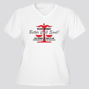 Better Call Saul Women's Plus Size V-Neck T-Shirt