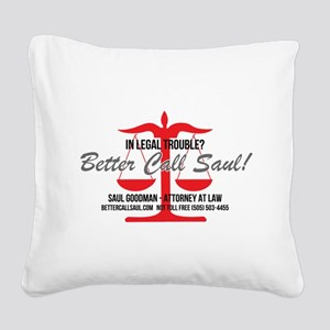 Better Call Saul Square Canvas Pillow