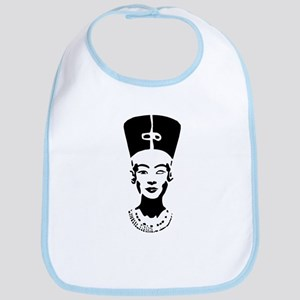 Nefertiti - Right Eye Open Bib