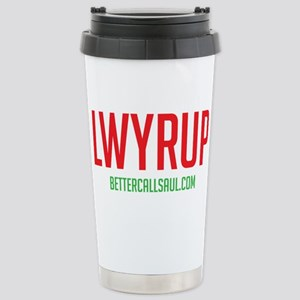 Lawyer Up Stainless Steel Travel Mug