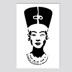 Nefertiti - Right Eye Open Postcards (Package of 8