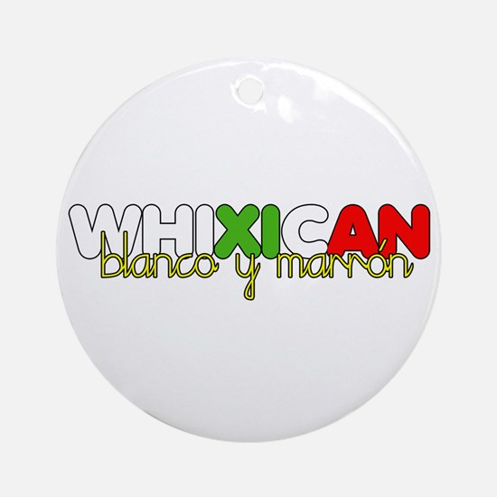 Whixican Ornament (Round)