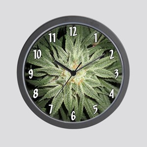 Cannabis Plant Wall Clock