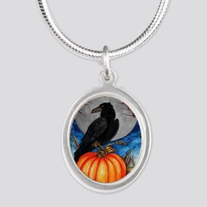 Halloween Raven Necklaces