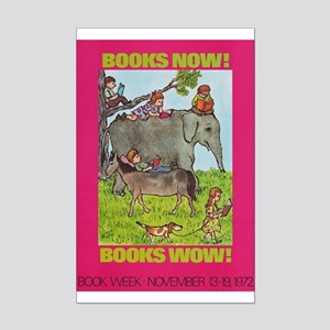 1972 Children's Book Week Mini Poster Print