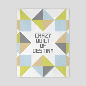 Crazy Quilt of Destiny Twin Duvet