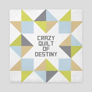Crazy Quilt of Destiny Queen Duvet