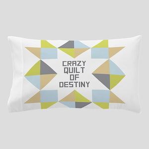 Crazy Quilt of Destiny Pillow Case
