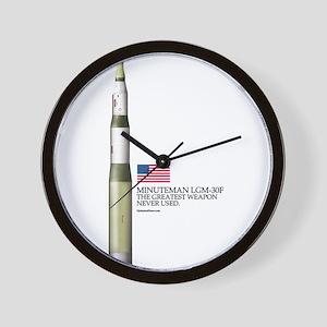 LGM-30F Wall Clock
