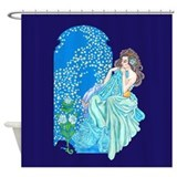 Mucha Shower Curtains