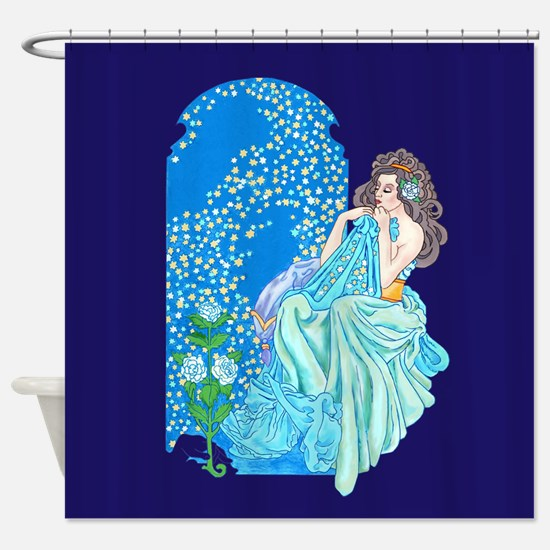 Blanket of Stars Shower Curtain
