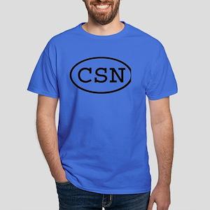 CSN Oval Dark T-Shirt