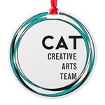 CAT logo Ornament