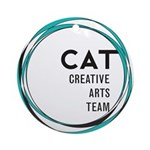 CAT logo Ornament (Round)