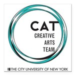 CAT logo Square Car Magnet 3