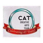 CAT logo Throw Blanket