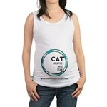 CAT logo Maternity Tank Top