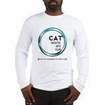 Cat Logo Long Sleeve T-Shirt