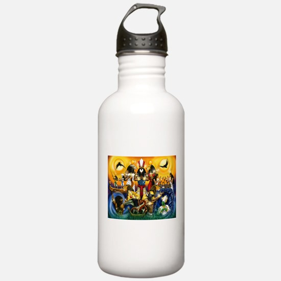 The Gods81.png Water Bottle