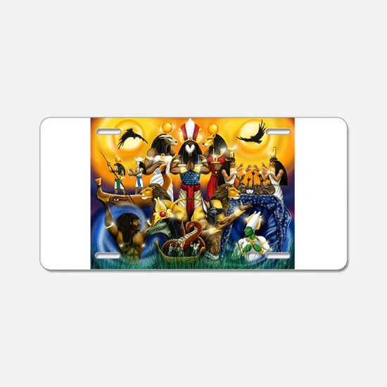 The Gods81.png Aluminum License Plate