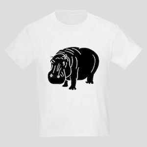 Hippopotamus Silhouette T-Shirt