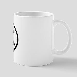 CSK Oval Mug