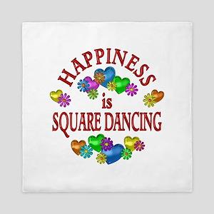 Happiness is Square Dancing Queen Duvet