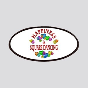 Happiness is Square Dancing Patches