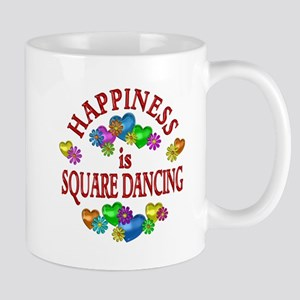 Happiness is Square Dancing Mug