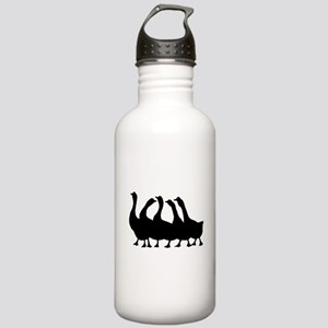 Geese Silhouette Water Bottle