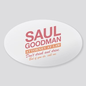 Breaking Bad - Saul Goodman Sticker (Oval)