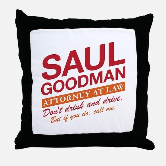 Breaking Bad - Saul Goodman Throw Pillow