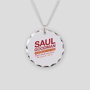 Breaking Bad - Saul Goodman Necklace Circle Charm