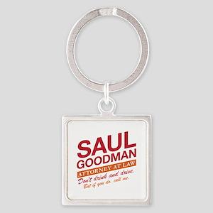 Breaking Bad - Saul Goodman Square Keychain