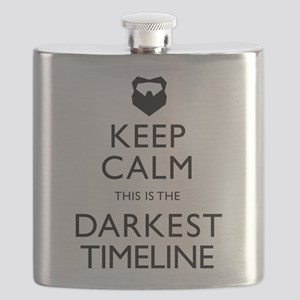 Keep Calm Darkest Timeline Community Flask