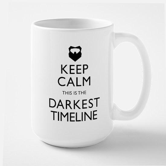 Keep Calm Darkest Timeline Community Mugs