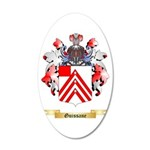 Guissane 20x12 Oval Wall Decal