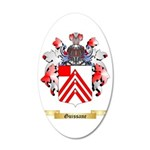 Guissane 35x21 Oval Wall Decal