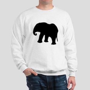 Elephant Silhouette Sweatshirt