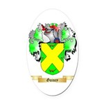 Guiney Oval Car Magnet