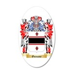 Guinane 35x21 Oval Wall Decal