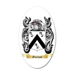 Guilmot 20x12 Oval Wall Decal