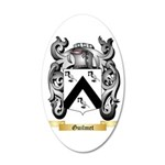 Guilmet 35x21 Oval Wall Decal