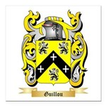 Guillou Square Car Magnet 3