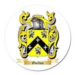 Guillou Round Car Magnet