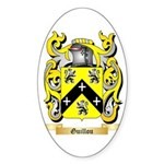 Guillou Sticker (Oval 50 pk)