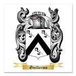 Guillermo Square Car Magnet 3