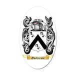 Guillermic Oval Car Magnet