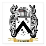 Guillermic Square Car Magnet 3