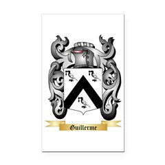 Guillerme Rectangle Car Magnet